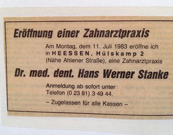 Dr. Stanke & Kollegen - Ihre Zahnarztpraxis mit eigenem Dentallabor in Hamm.