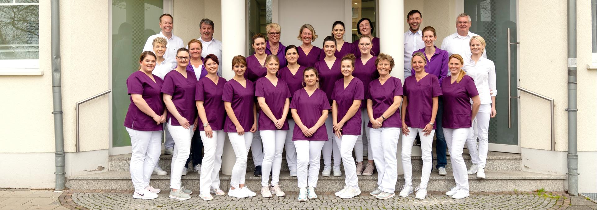 Praxisteam - Dr. Stanke & Kollegen - Ihre Zahnarztpraxis mit eigenem Dentallabor in Hamm.