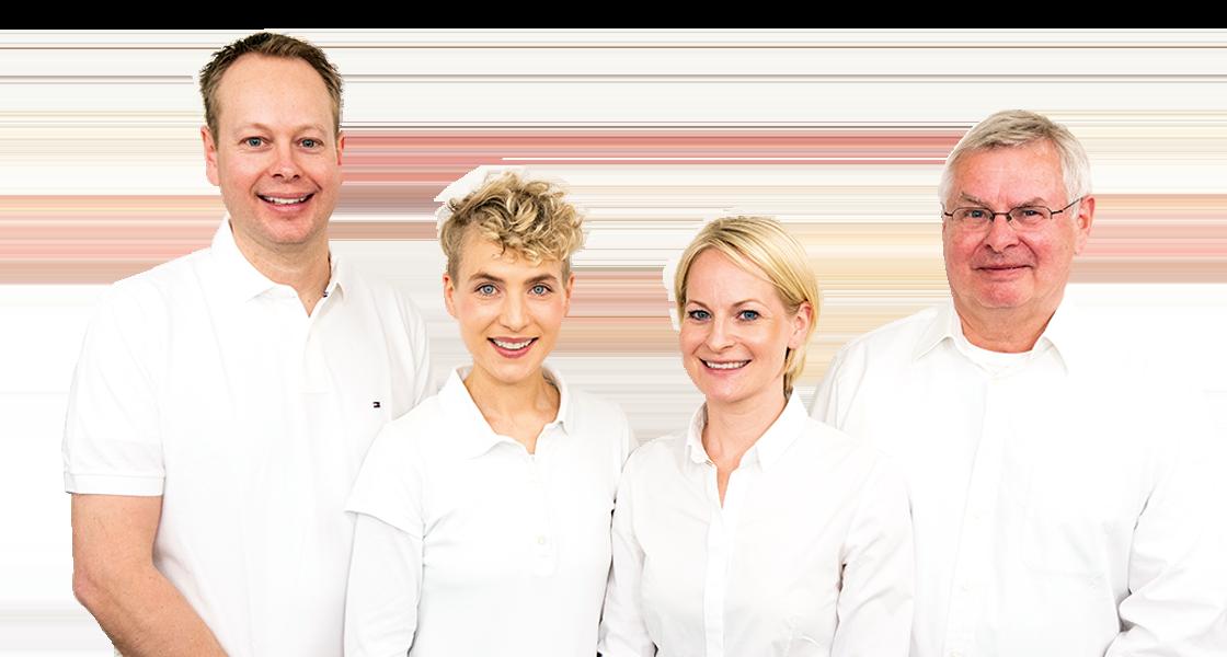 Team Behandler - Dr. Stanke & Kollegen - Ihre Zahnarztpraxis mit eigenem Dentallabor in Hamm.