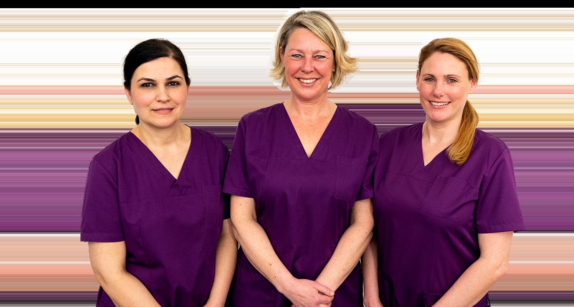 Team Prophylaxe - Dr. Stanke & Kollegen - Ihre Zahnarztpraxis mit eigenem Dentallabor in Hamm.