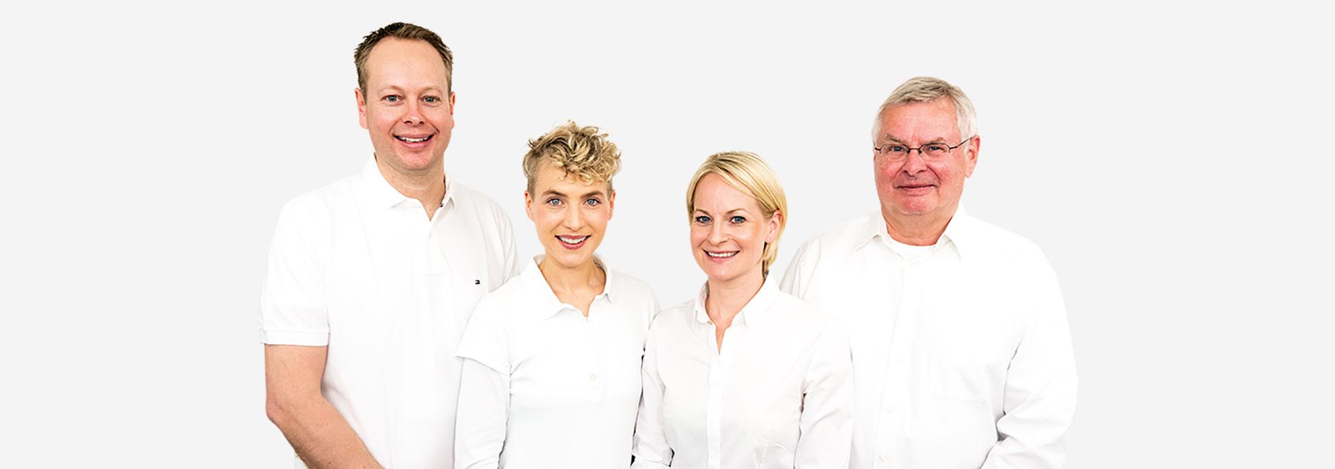 Behandlerteam - Dr. Stanke & Kollegen - Ihre Zahnarztpraxis mit eigenem Dentallabor in Hamm.